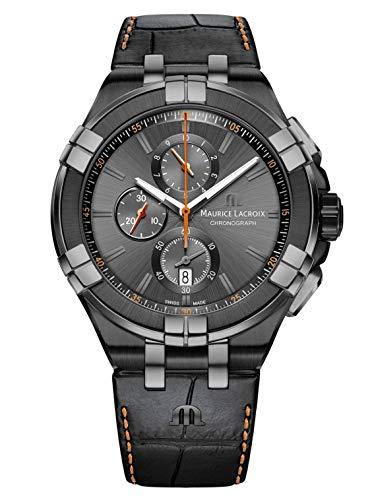 Reloj de Cuarzo Maurice Lacroix Aikon Chronograph, Antracita, Edición Especial