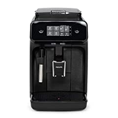 Seattle Coffee Gear Exclusive w/ 2 Year Philips Direct Warranty! All-In-One - The Carina 1200 grinds, brews, and froths—all in a compact coffee package. Panarello Steam Wand - This auto-frothing wand makes the foam for you, while still giving you con...
