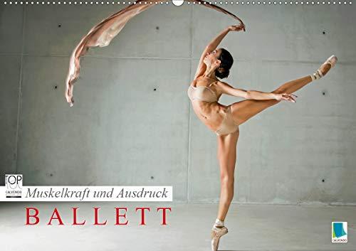 Muskelkraft und Ausdruck – Ballett (Wandkalender 2021 DIN A2 quer)