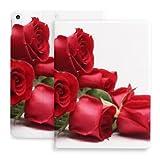 Coque pour Ipad 10.2 Coque Bouquet Roses sur Fond Blanc Compatible avec Ipad 8ème Gen (2020)/7ème...
