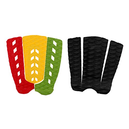 perfeclan 6pcs Leichte Paddleboard Shortboard Surfen Skimboard Traction Pad