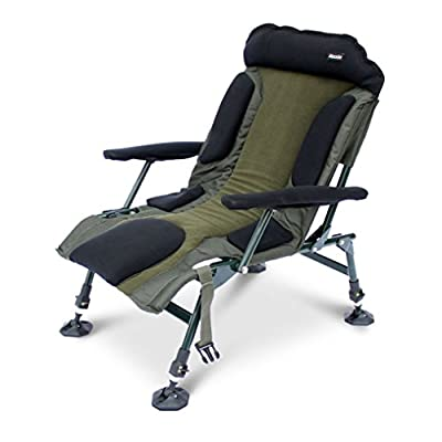 Abode Carp Fishing Camping Folding Easy-Arm Lo-Armchair Sport Chair from ABODE