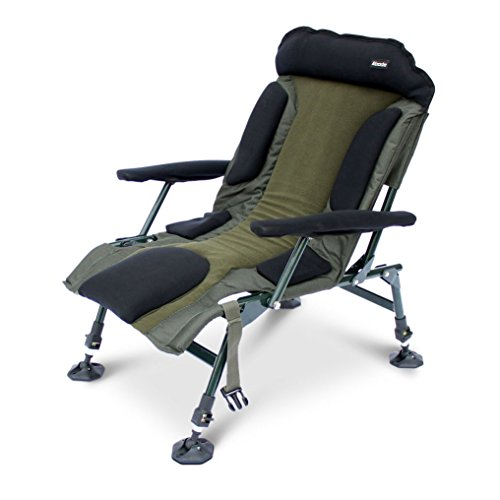 Abode Carp Fishing Camping Folding Easy Arm Lo Armchair Sport Chair