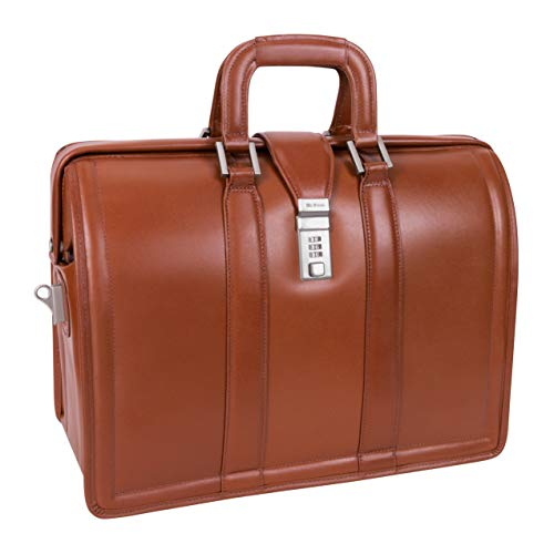 McKleinUSA Morgan 83344 Brown 17 Litigator Laptop Brief