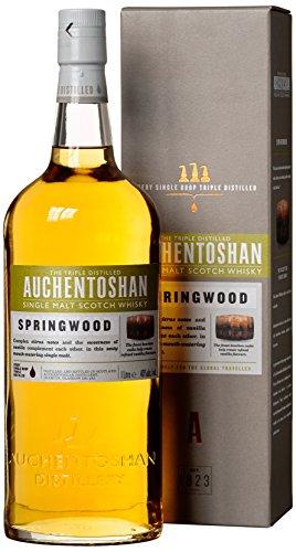 Auchentoshan Springwood Whisky mit Geschenkverpackung (1 x 1 l)