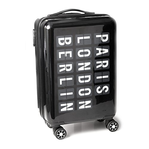 Balvi - Trolley-koffer Airport in cabineformaat. ABS-kunststof – koffer. Met 4 wielen.