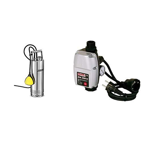 Kärcher Tauchdruckpumpe BP 2 Cistern & T.I.P. 30241 Elektronische Pumpensteuerung BRIO 2000 M, für alle Tauchdruck-, Tiefbrunnen-, Zisternen- und Gartenpumpen ab 1,5 bar