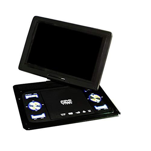 Vokmon 9.8' portátil de DVD de Alta definición Reproductor de vídeo AV Input-Output Coche TV Reproducción de un Dispositivo Enchufe de la UE
