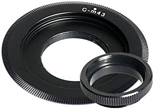Montura tipo C 20mm Adaptador de tubo de extensión Adaptador De Montura C-CS Anillo Espaciador Para Cctv Lente