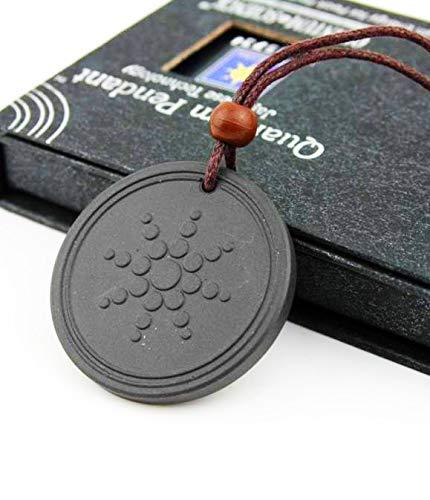 Quantum Halskette Bio Energie Anhänger Hals Kette / 5k-6k Negative Ionen Scalar EMF Keramik