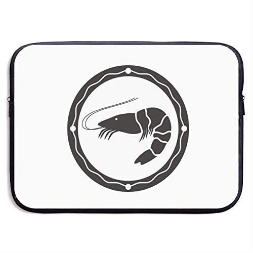 Logo Shrimp Laptop Sleeve- Stylish Cute Notebook Handbag Laptop Sleeve
