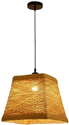 DUOMING Lustre Restaurant Bar étude éclairage Suspension Style Rustique rougein Antique Plafond Suspendu (Petit) De la personnalité