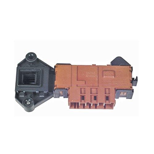 Verriegelungsrelais Rold Türschloss Türverriegelung mit Mikroschalter Waschmaschine ORIGINAL Bauknecht Whirlpool 481228058044 ersetzt Rold DS 88/Z 13551 06 passend WAD6570 WAE8791 WAK5460 WA9556 uvm