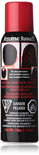 jerome russell Hair Color Thickener for Thinning Hair, Dark Brown, 3.5 Ounce