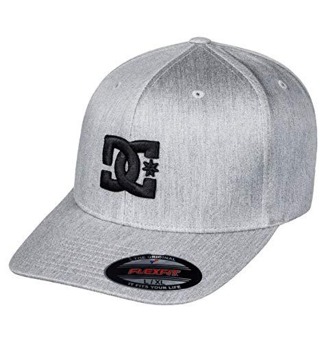 DC Clothing Men Capstar-Flexfit Cap, Castlerock, S/M