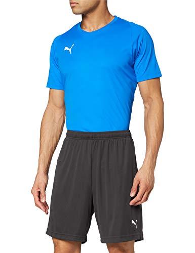 Puma Liga Training Shorts Core, Pantaloncini Uomo, Nero/Bianco, S