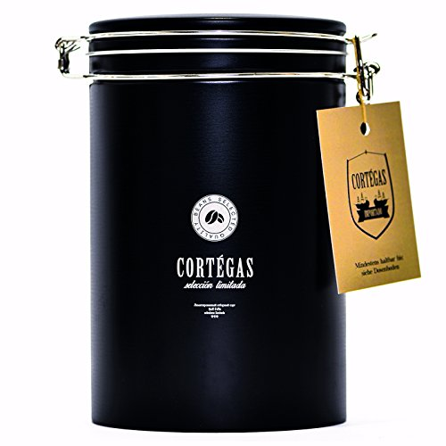 Cortegas - Seleccion Limitada - Ganze Bohne Röstkaffee 350g - Kaffeedose - 100% Arabica - Fair Trade - Gourmet Kaffee - Direct Trade Kaffee aus dem Hochland der Dominikanischen Republik