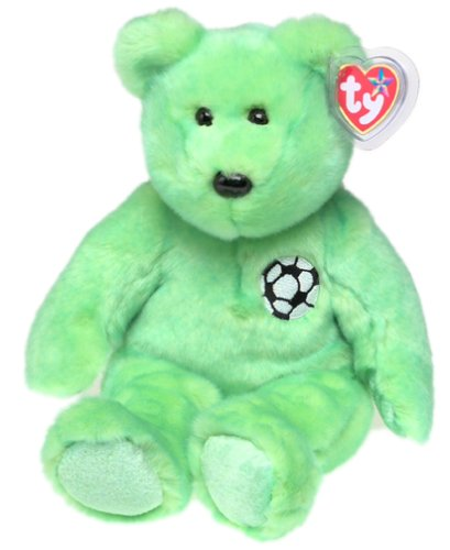 1 X TY Beanie Buddy - KICKS the Soccer Bear