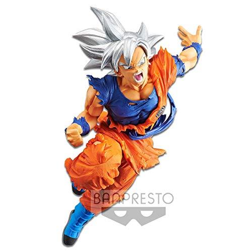 BANDAI- Transcendence Art Dragon Ball Estatua Son Goku Ultra Instinct, Multicolor, Talla Única (Banpresto BANP82742)