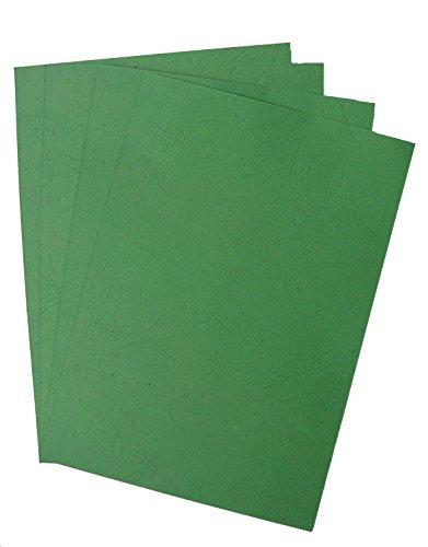 Pavo Einbanddeckel-Lederoptik DIN A4, 250 g/m², 100-er Pack, waldgrün