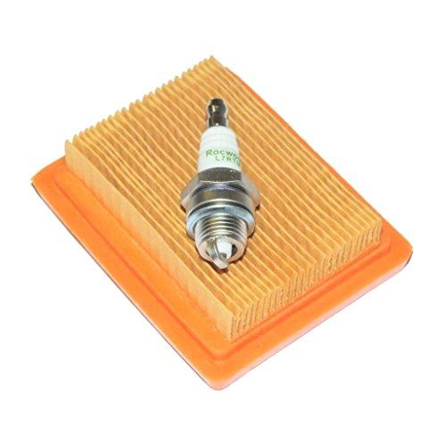 homyl Filtro Aire cortabordes vela encendido herramienta Jardinería para Stihl FS200