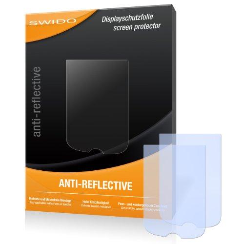 SWIDO X061868 Anti-reflektierende hartbeschichtet Displayschutzfolie für Mitac Mio Cyclo 505 (2-er Pack)