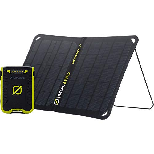Goal Zero Venture 30 Solar Kit with Nomad 10 One Color, One Size