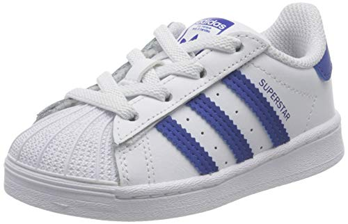 adidas Superstar El I, Scarpe da Ginnastica, Ftwr White/Team Royal Blue/Ftwr White, 26 EU
