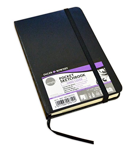 Simply Pocket Skizzenbuch, Hardcover, CDU 72SH