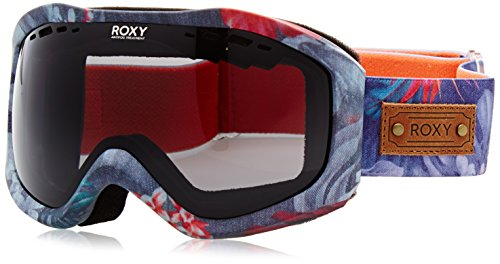 Roxy Damen Sunset Art Series Snowboard/ski Brille, Hawaiian Tropik Paradise Pink, One Size
