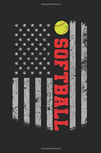 Softball: Softball Grid / Graph Paper Notebook for Catcher / Pitcher Girls Training Journal at Sports, High School, College, University