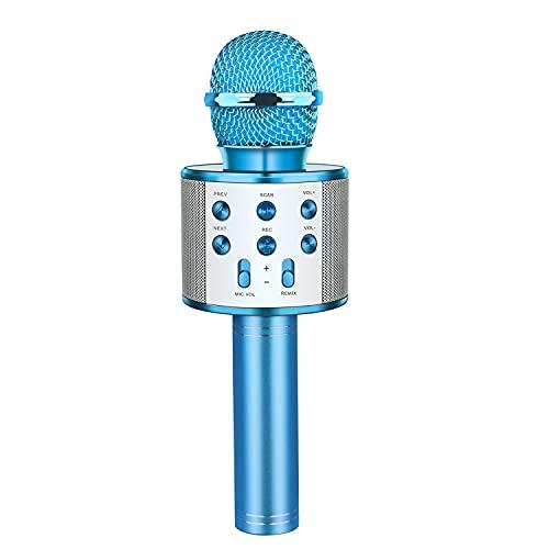 LetsGO toyz Microfono Karaoke Bluetooth - Micrófono Inalámbrico Regalos para Niñas Canta Partido Musica