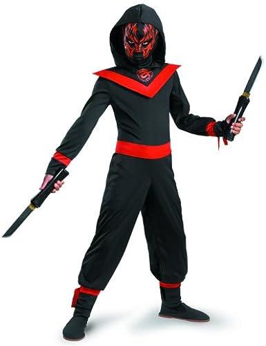 Disguise Neon Ninja Kinderkost-m 4-6