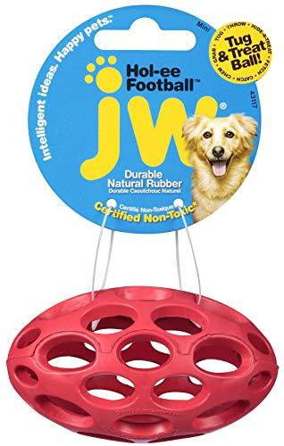 JW Pets JW43117 Hol-ee Football XS/Mini, Farben sortiert