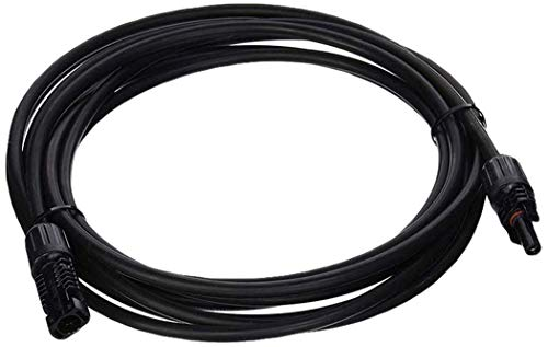 Renogy 15 Feet 10AWG Solar Extension Cable with MC4 Female and Male connectors
