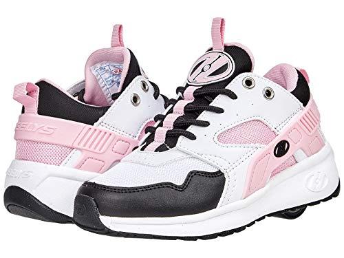 HEELYS Girl's Force (Little Kid/Big Kid/Adult) White/Black/Pink 6 Big Kid, 7 Women's M