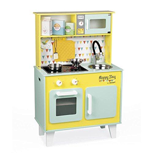 Cocinita de juguete amarilla