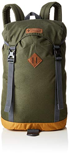 Columbia Erwachsene Classic Outdoor 25L Daypack, Grün/Ahorn (Surplus Green Heather, Maple), O/S