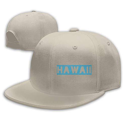OOworld Cappelli Hip-Hop da Baseball Pianura Regolabile da Uomo da Donna Hawaii