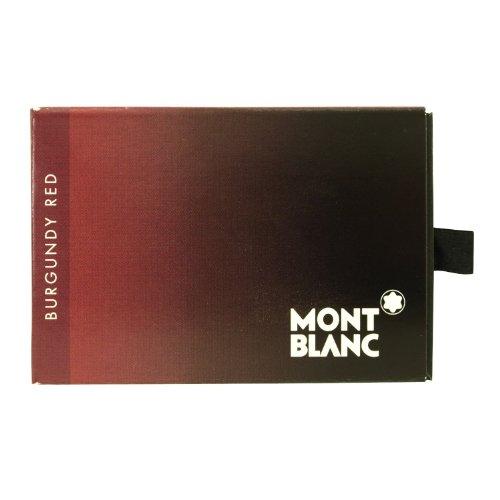 Montblanc Borgogna rosso cartucce di inchiostro per penna stilografica 8per confezione (confezione da 2)