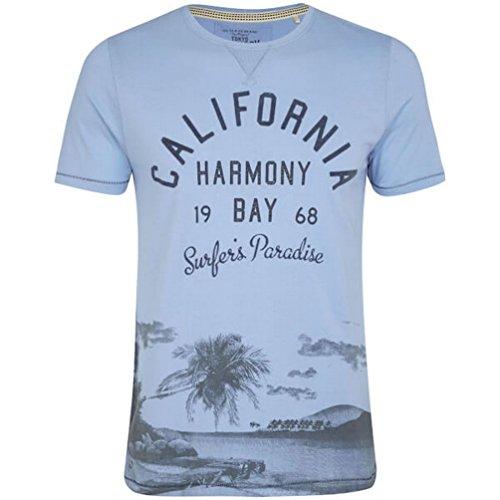 UKMiniMarket -  T-shirt - Uomo blu Blue