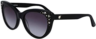 Karl Lagerfeld Cateye KL966S Black Sunglasses, Size 55