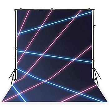 laser beam school photo backdrop