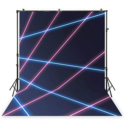 MUZI Photography Backdrops for Laser line Baby Custom Interior Photobooth Background for Studio Props Photo Backdrop 7x5ft XT-5310