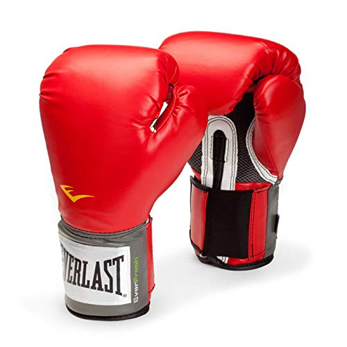 Everlast PRO STYLE ELITE TRAINING GLOVES RED 16 OUNCES