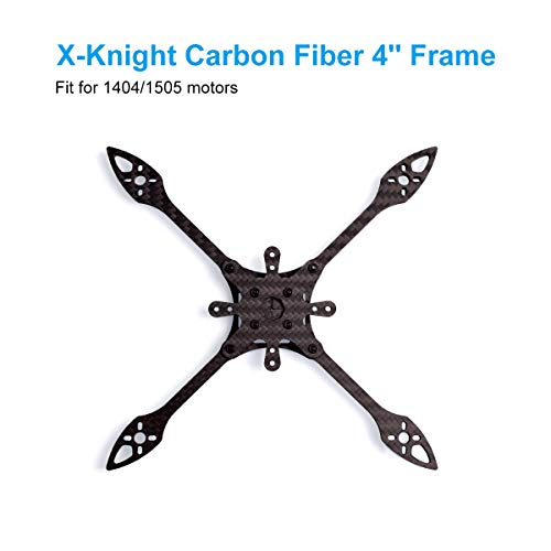 BETAFPV X-Knight 160mm Toothpick Frame 4Inch T700 Carbon Fiber FPV Quacopter Frame Kit for X-Knight 4Inch FPV Toothpick Quad F4 AIO 20A FC 1404 1505 Brushless Motors