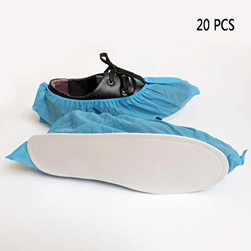10 Paren van Premium Disposable Boot & Shoe Covers, duurzaam, anti-slip zool, Liquid Splash en Dust Barrier Properties |