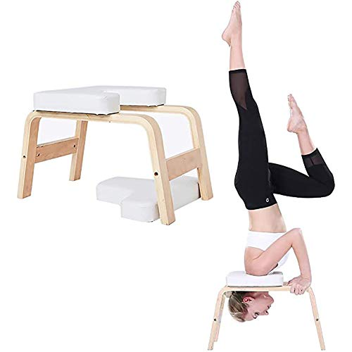 For Sale! LISI Yoga Inversion Chair, Stand Headstand Bench Multifunctional Stool Yoga Exercise Pract...