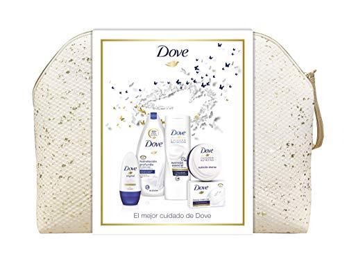 Dove Neceser Brillos Mujer - Gel Hidratación Profunda 500 ml + Loción...