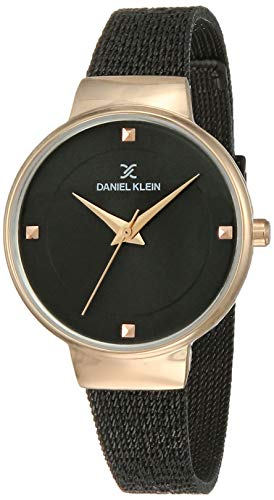 Daniel Klein Analog Black Dial Women's Watch-DK12046-5